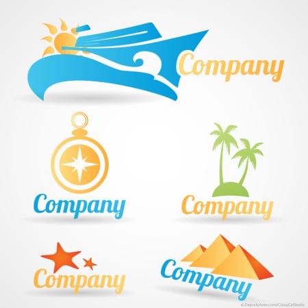 diverse fertige Standard Logos