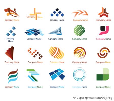Vorschaubild Logo Programme Auswahl an einfachen Beispiellogos