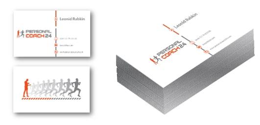 Corporate Design Visitenkarten Umbrellaz Design Agentur