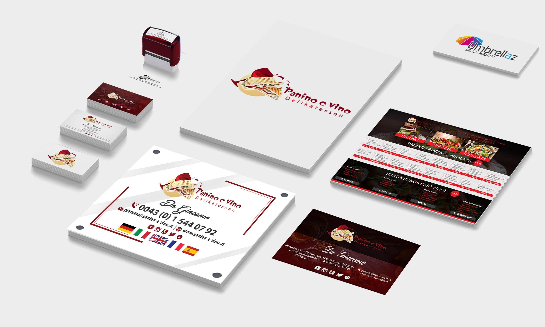 Logo • Visitenkarten • Favicon • Stempel • Türschild • Speisekarte • Banner