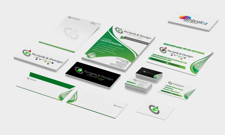 Briefpapier • Weihnachtslogo • Flyer • Logo • Kuvert • Banner • Visitenkarten • Favicon
