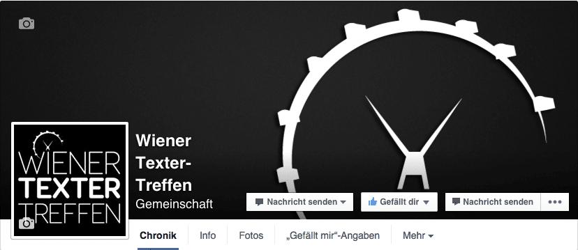 Corporate Design: Wiener Texter-Treffen auf Facebook